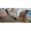 Детская кроватка и стульчик для кормления