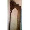 Антикварное,  старинное зеркало 19 века с короной