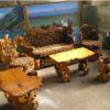 эксклюзивная мебель из Карагача  (капы)
