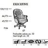 Кожаное кресло Executive,     Италия