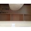 Кровать-чердак со шкафом и полками