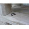 Столик из паллет бренда 4loft