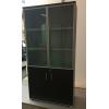 Высокие шкафы с металлическим каркасом